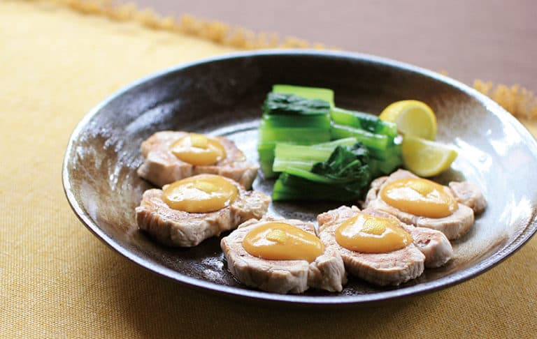 Grilled yuzu miso