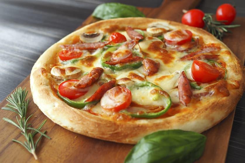 お家で簡単ホットスティックピザ